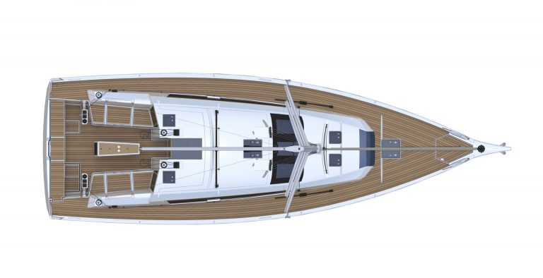 Dufour 430 layout