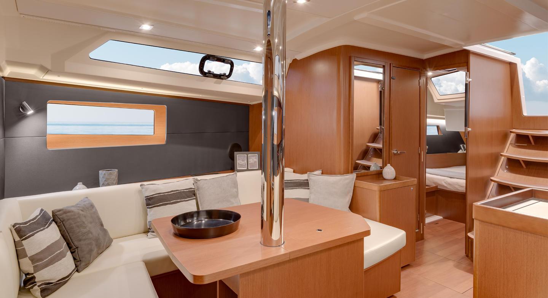 Oceanis 41.1 interior